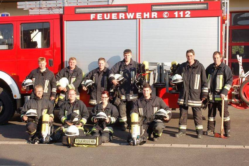 Atemschutzgeräteträger der FFW Neusorg